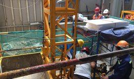 Dịch vụ kiểm định an toàn sàn treo nâng người trong thi công xây dựng