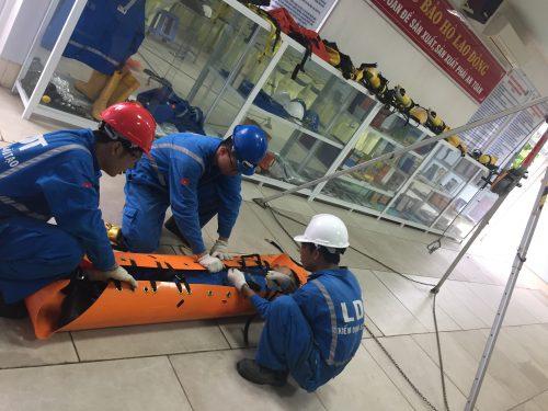 LDT mở lớp bồi dưỡng, huấn luyện nghiệp vụ cứu nạn, cứu hộ