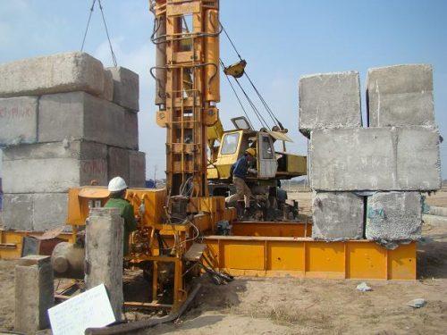 Dịch vụ kiểm định máy khoan, máy ép cọc, đóng cọc trong thi công xây dựng