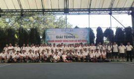 Sôi động cùng giải Tennis Doanh nghiệp Đông Nam Bộ mở rộng lần 1