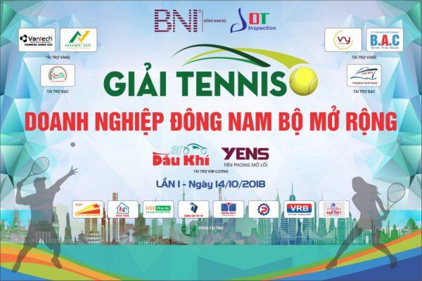 LDT đồng hành cùng Giải Tennis Doanh nghiệp Đông Nam Bộ lần 1 năm 2018