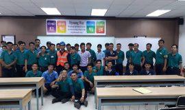 LDT tổ chức đào tạo sơ cấp nghề lai xe nâng cho công nhân Công ty TNHH Hyosung Đồng Nai