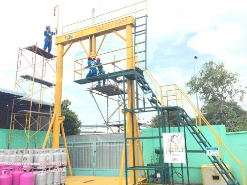 An toàn lắp đặt và sử dụng giàn giáo trong thi công xây dựng