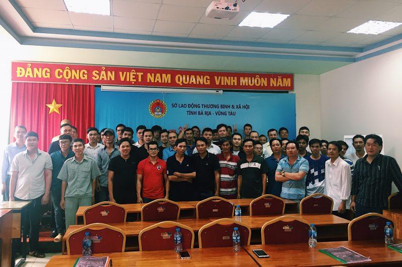 Sở LĐTBXH và LDT tổ chức khóa tập huấn an toàn lao động trong lĩnh vực cơ khí