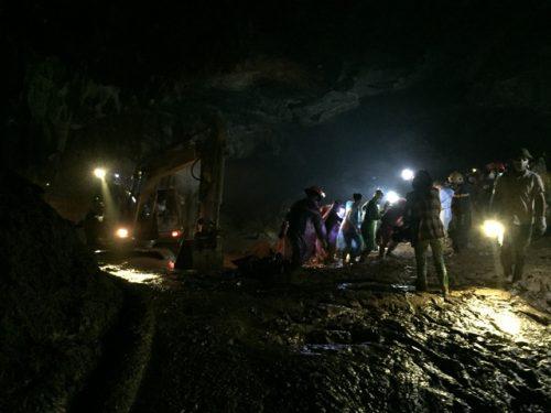 Tìm thấy thi thể nạn nhân cuối cùng vụ sập hầm vàng hang Cột Cờ