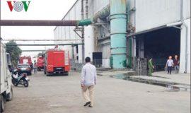 Nổ lớn ở nhà máy thép ở Hải Phòng nhiều người bị thương