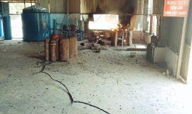 Quảng Ngãi: Nổ đường ống dẫn khí gas, 3 công nhân bị thương nặng