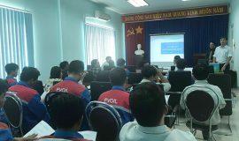 LDT tổ chức huấn luyện an toàn hóa chất Công ty PV OIL Phú Mỹ