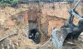 Nghệ An: Sập hầm khai thác thiếc, 2 vợ chồng và một người khác bị vùi lấp