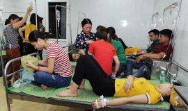 Vì sao gần 100 công nhân Công ty Ha Hae Việt Nam nhập viện?