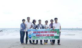 Đoàn Thanh niên LDT chung tay bảo vệ môi trường