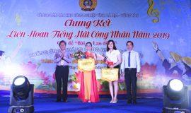 Công đoàn cơ sở LDT đạt thành tích cao tại Liên hoan tiếng hát Công nhân năm 2019