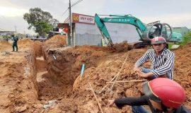 Bình Dương: Làm cống thoát nước bên đường, một công nhân tử vong