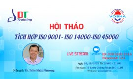 Hội thảo Tích hợp ISO 9001- ISO 14000-ISO 45000