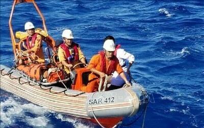 Huấn luyện an toàn làm việc trên sông, trên biển