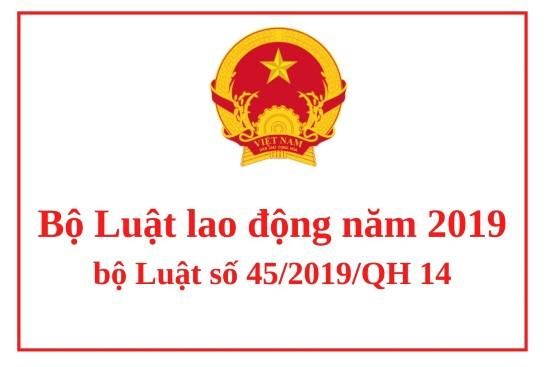 Luật lao động năm 2019